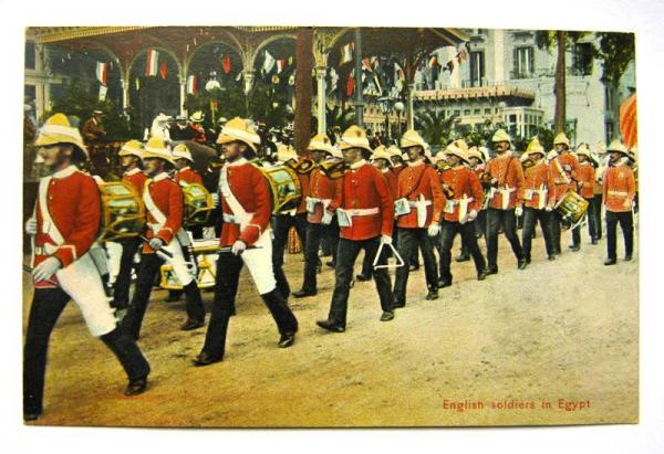 CPA EGYPTE English soldiers in Egypt